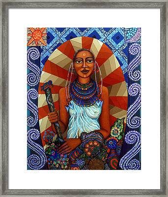 Mother Earth Framed Print by Madalena Lobao-Tello