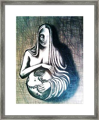 Mother Earth Framed Print by Paulo Zerbato