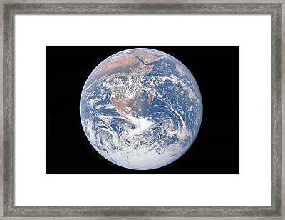 Mother Earth Framed Print by Peter Chilelli