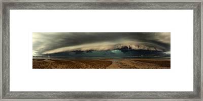 Mother Natures Revenge Framed Print by Mel Brackstone