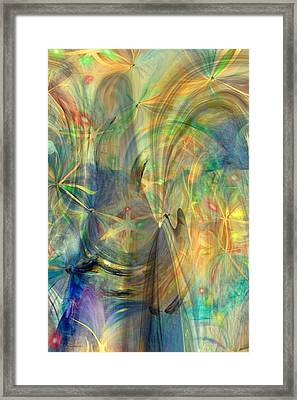 Mother Of Angels Framed Print by Linda Sannuti