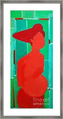Motherhood Framed Print by Ana Maria Edulescu