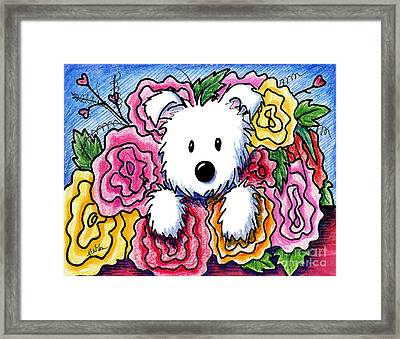 Mothers Day Bouquet Framed Print by Kim Niles