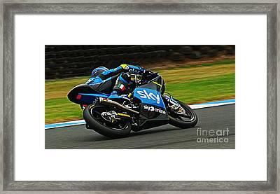 Moto Grand Prix Framed Print by Blair Stuart