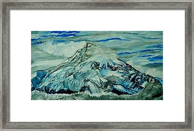 Mount Hood  Framed Print by Gregory A Page