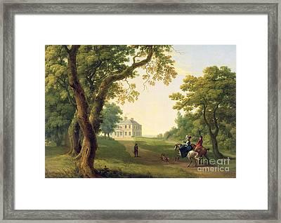 Mount Kennedy - County Wicklow Framed Print by William Ashford