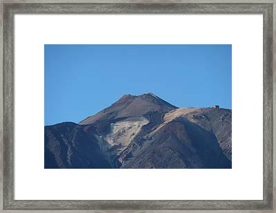 Mount Teide Framed Print by George Leask
