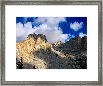 Mount Whitney Trail Framed Print by Scott McGuire