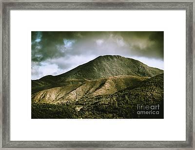 Mount Zeehan Tasmania Framed Print by Jorgo Photography - Wall Art Gallery