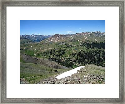 Colorado Mountain 10 Framed Print by Bruce Miller