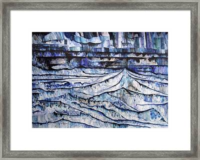 Mountain Chain Framed Print by Alexander Chachanidze