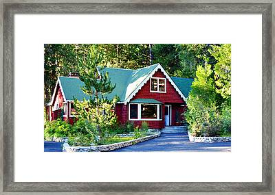 Mountain Lodging Framed Print by Glenn McCarthy Art and Photography