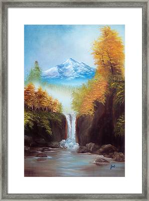 Mountain Majesty Framed Print by Joni McPherson