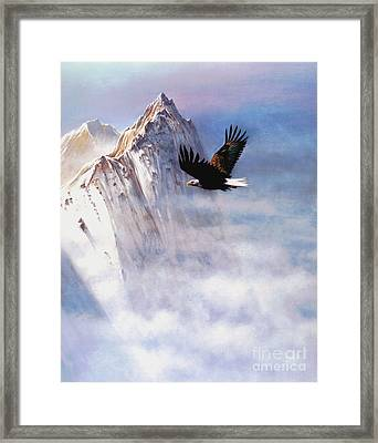 Mountain Majesty Framed Print by Robert Foster