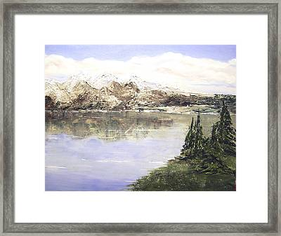 Mountain Majesty Framed Print by Terry Honstead