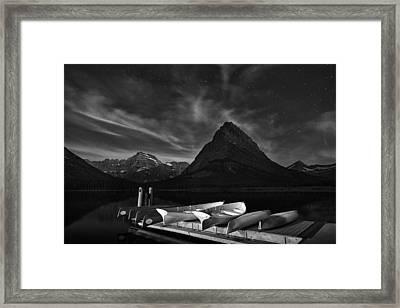 Mountain Stars Framed Print by Andrew Soundarajan