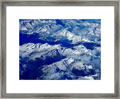 Mountains Of Russia Framed Print by Anastasia Zhenina