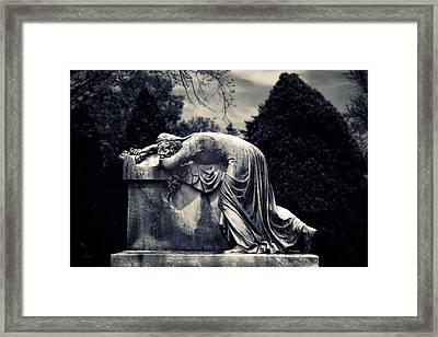 Mournful Framed Print by Jessica Jenney