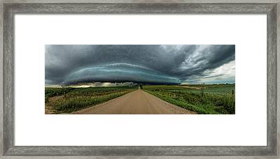 Mouth Of The Beast  Framed Print by Aaron Groen