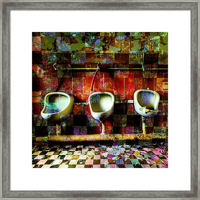 Move Over Marcel Framed Print by Barbara Berney