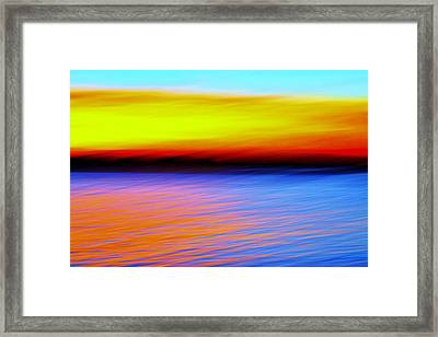 Movement Framed Print by Rui Militao