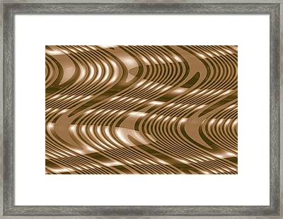 Moveonart The Wave Of The Future Is Here Framed Print by Jacob Kanduch