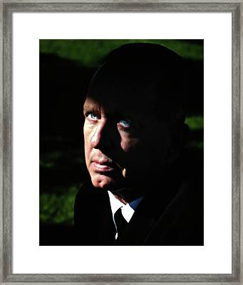 'movie Heavy Bobby Ciari Hollywood Beach California 2010 Framed Print by Gus McCrea