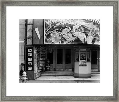 Movie Theater On Saint Charles Street Framed Print by Everett