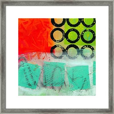 Moving Through 11 Framed Print by Jane Davies