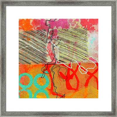 Moving Through 7 Framed Print by Jane Davies