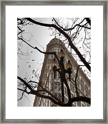 Moving With Time Framed Print by Vern Minard