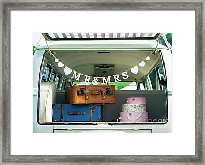 Mr And Mrs Framed Print by Tim Gainey
