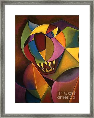 Mr. Boogs Framed Print by Tracey Levine