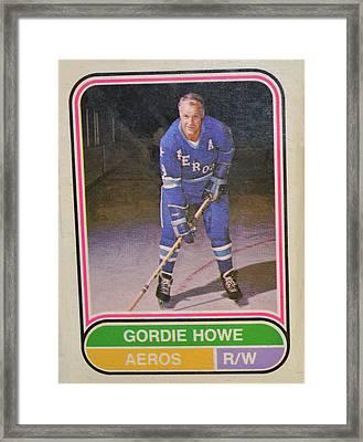 Mr Hockey Framed Print by David Parsons