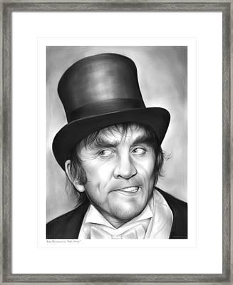 Mr Hyde Framed Print by Greg Joens