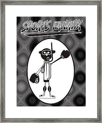 Mr. Jock Framed Print by Maria Watt