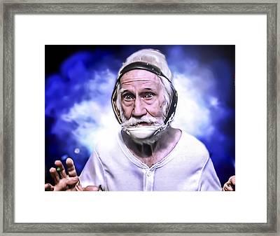 Mr. Joseph Blue Pulaski Framed Print by Nicholas  Grunas