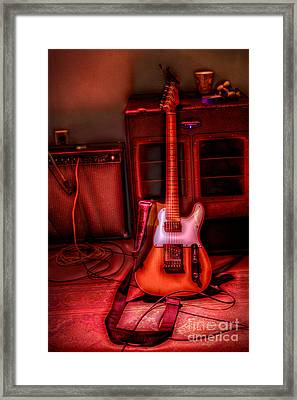 Mr. Scratch's Axe Framed Print by Dan Stone