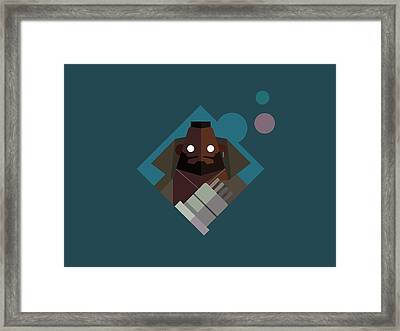 Mr. Wallace Framed Print by Michael Myers