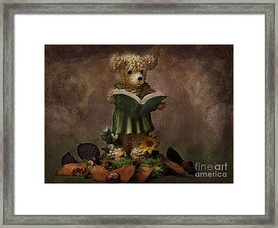Mrs Bear Framed Print by Angela Doelling AD DESIGN Photo and PhotoArt