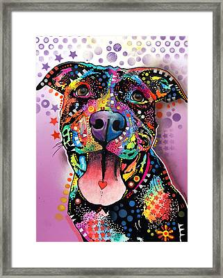 Ms. Understood Framed Print by Dean Russo