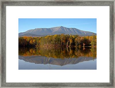 Mt Katahdin Baxter State Park Fall 1 Framed Print by Glenn Gordon