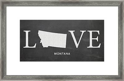 Mt Love Framed Print by Nancy Ingersoll