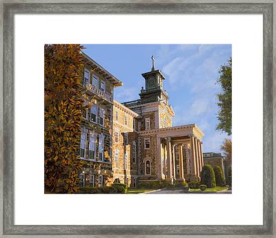 Mt St.mary Academy Framed Print by Guido Borelli