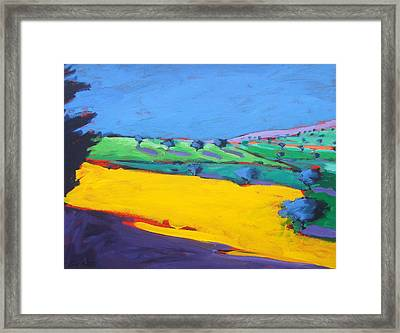 Much Marcle  Framed Print by Paul Powis