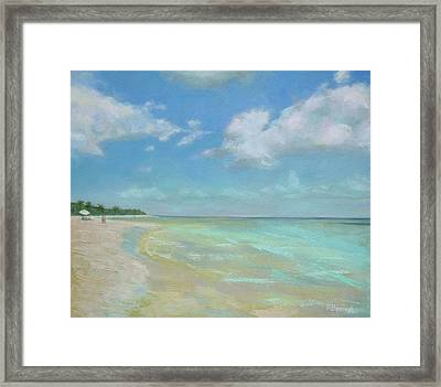 Much Needed Framed Print by Robie Benve