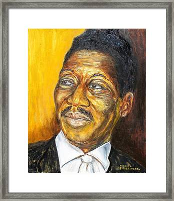 Muddy Waters Framed Print by Michael Titherington