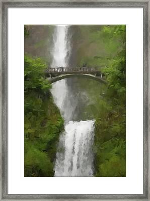 Multnomah Falls 2016 Framed Print by Gary Grayson