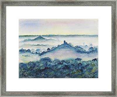 Mump And Tor Framed Print by Peter  Lawrence
