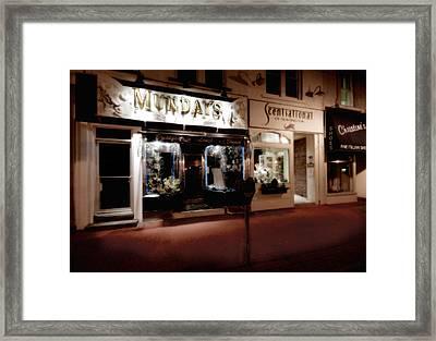 Mundays Framed Print by Michael Simeone